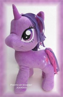 "My Little Pony FRIENDSHIP IS MAGIC 11"" PLUSH * TWILIGHT SPARKLE fim"