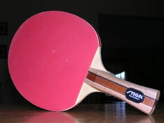 Table Tennis Paddle for Ping Pong Excellent Control Balls Qty1