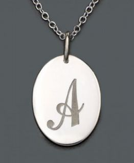 sterling silver initial necklaces in Necklaces & Pendants