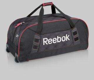 Reebok 8K Wheeled Hockey Equipment Bag NHL Hockey Street Hockey