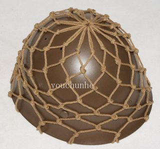 WWII IMPERIAL JAPANESE ARMY IJA HELMET COVER COTTON CAMOUFLAGE NET