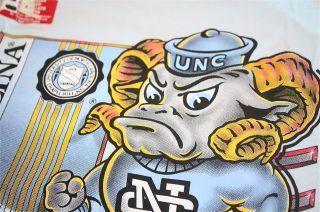 UNC North Carolina Tarheels mascot t shirt NWT Jordan Columbia XI NCAA