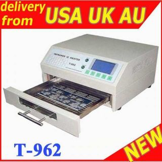 962 INFRARED IC HEATER REFLOW WAVE OVEN BGA T962 m3