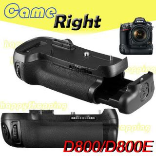 Multi power Battery Grip for Nikon D800/D800E EN EL15 DSLR Camera as
