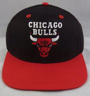 NBA Chicago Bulls Snapback Cap Hat Air Jordan Derrick Rose 2tone Black