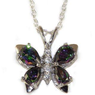 mystic topaz necklace in Fashion Jewelry