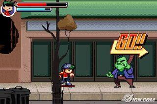 American Dragon Jake Long    Rise of the Huntsclan Nintendo Game Boy