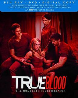 True Blood The Complete Fourth Season 4 (DVD, 2012, 5 Disc Set)