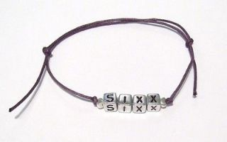 Andy Sixx Friendship Bracelet   Colour Options   Black Veil Brides