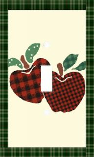 Apple Jack Single Light Switch Cover Kitchen/Dining Room Decor
