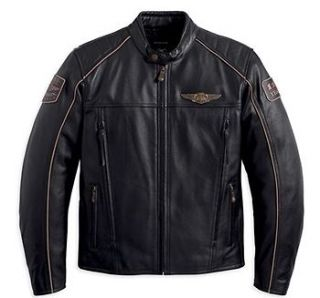 anniversary harley leather in Clothing,