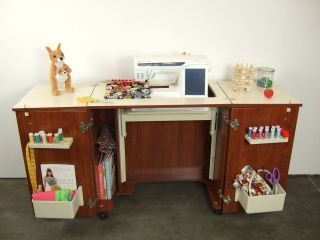 Arrow Bandicoot Sewing Machine Cabinet New In Teak