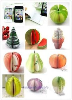 Vegetable Cell Phone Shaped Memo NotePads Note Paper Unusual Gift