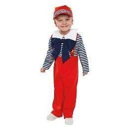 NiP Tiny Tweedle Dee Alice Wonderland Costume Dress UP Costume Sz 3T