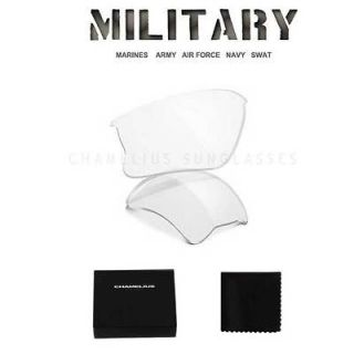 Clear Tactical Safety XLJ Replacement Lenses / Oakley Flak Jacket