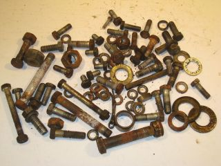 Economy Powerking Power king 1618 Tractor nuts bolts washers hardware