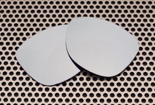 Silver Ice Replacement Lenses for Oakley Frogskins Sunglasses