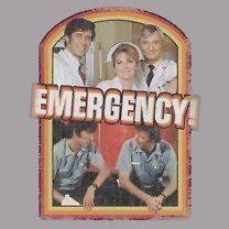 Emergency 70s TV Show Retro Cast Tee Shirt Adult Sizes S 3XL