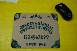 OUIJA BOARD Old Wooden style Mouse Pad mousepad custom
