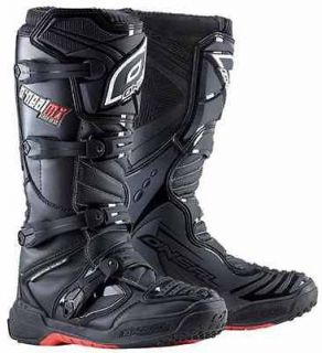 ONEAL ELEMENT OFF ROAD/ MOTOCROSS / DIRT BIKE RIDING BOOT BLACK SIZE