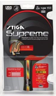 NEW Stiga Supreme Racket Table Tennis Ping Pong Paddle