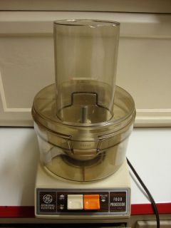 Vtg General Electric Food Processor Salad Maker