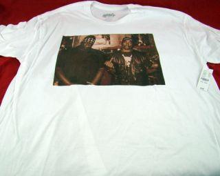 2pac Biggie Smalls BIG Old School Rap Hip Hop T Shirt Size X Large
