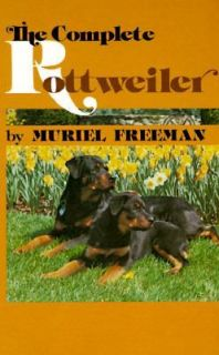 ROTTWEILER DOG Dogs Care TRAIN Raise Groom Show BOOK