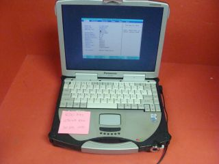 PANASONIC TOUGHBOOK CF 28 Laptop Computer with HDD, Caddy and Battery