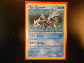 Pokemon Card B&W Noble Victories Kyurem Reverse Holo 34/101