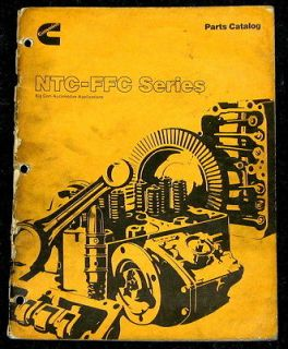 Cummins Parts Catalog NTC FFC Series Big Cam Automotive Appplications