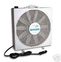 NEW Endless Breeze 12 Volt Fan for RV / Camper / Pop Up / Motorhome