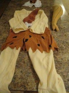 Childs The Flintstones Bam Bam Halloween Costume Medium (8 10)