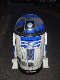 R2D2 Star Wars Pepsi Cooler The Iceman Cooler by Paul Flum ideas Inc