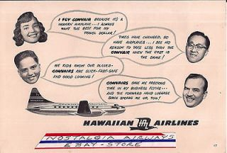 Collectibles  Transportation  Aviation  Airlines  Hawaiian