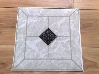 black and white vinyl flooring in Tile & Flooring