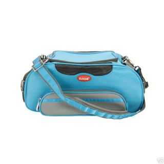 Argo aero pet airline approved dog & cat carrier blue