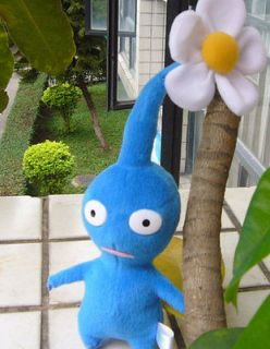 NEW ARRIVAL NINTENDO PIKMIN BLUE FLOWER RARE PLUSH DOLL COLLECTION