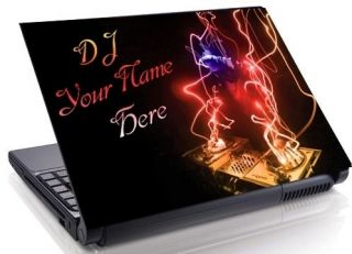 lightning Personalized Laptop Skin Decal ALL SIZES more styles 328