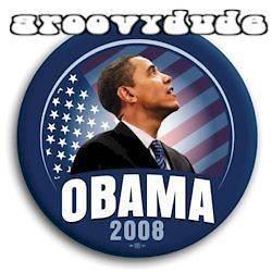 Barack OBAMA 2008 Campaign 08 Pin Button Pinback Badge Political Flag