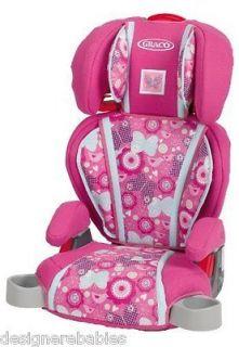 graco pink car seat