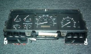 Bronco F150 V8 Gas MPH Instrument Cluster Speedometer Tach 1997 F250HD