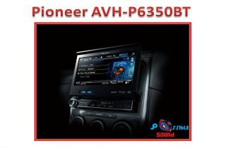 Pioneer AVH P6350BT Car stereo TFT 7/SD/USB/iPod/ iPhone/AUX In/BT