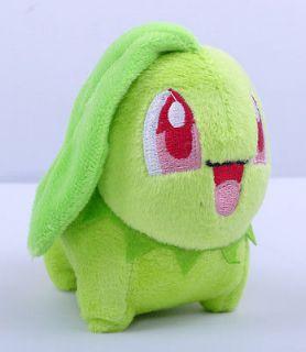 Pokemon MINI Plush Toy Chikorita Stuffed Animal Dolls CC