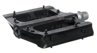 Nukeproof Electron Flat Platform Freeride Downhill MTB Pedals   Black