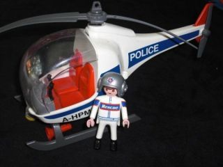 playmobil helicopter in Playmobil