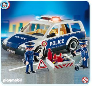 playmobil police car in Playmobil
