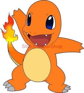 Size   CHARMANDER Pokemon Decal Removable WALL STICKER Art Decor Mural