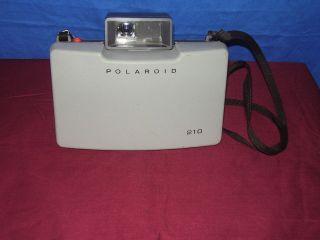 Vintage Polaroid Land 210 Film Camera