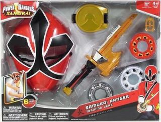 Power Rangers Samurai RANGER TRAINING GEAR FIRE RED 31606 NIP MIGHTY